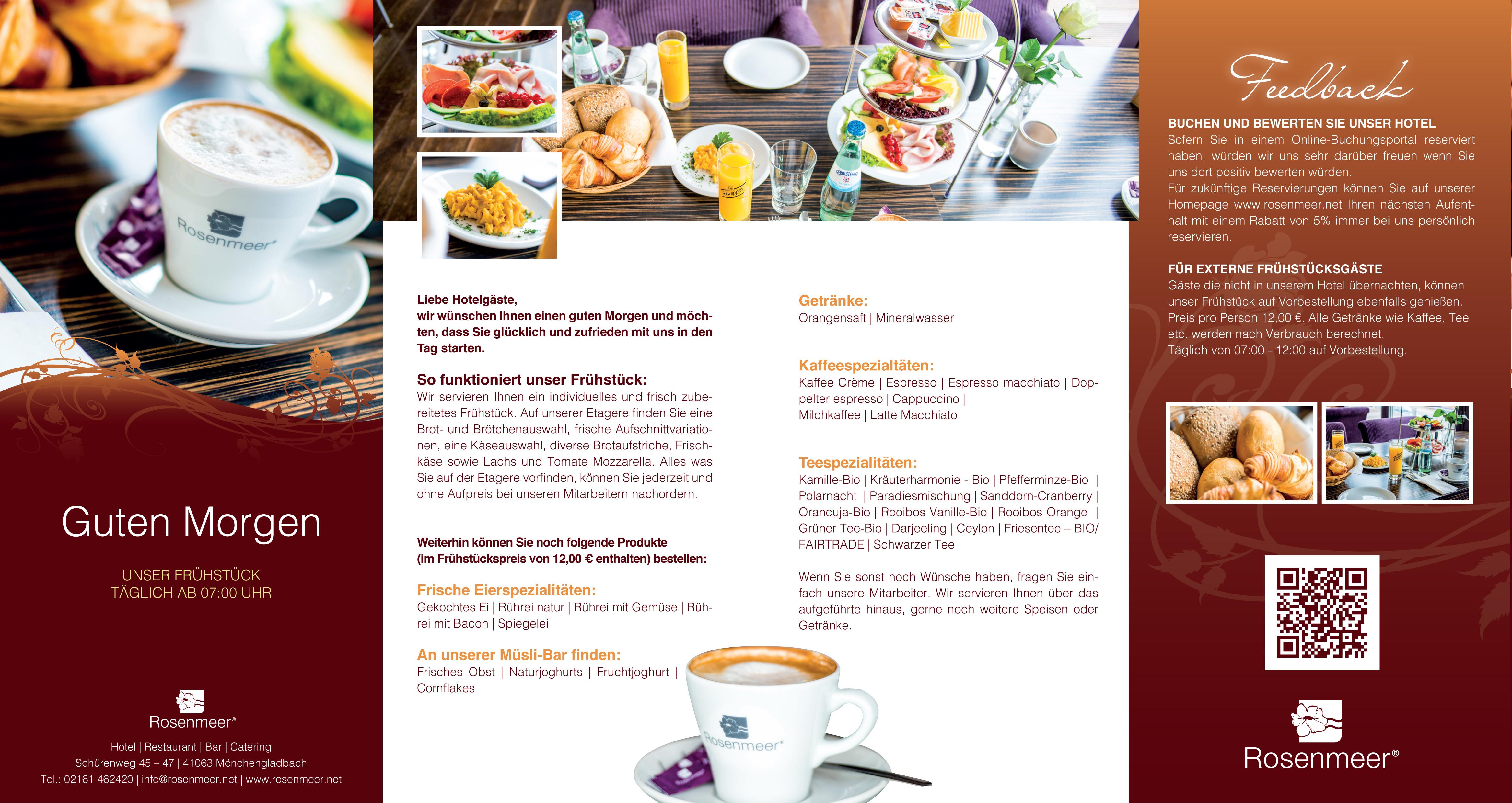 Frühstücken im Rosenmeer - Rosenmeer