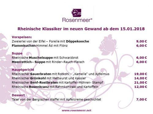 ROSENMEER Rheinischer Art 2018