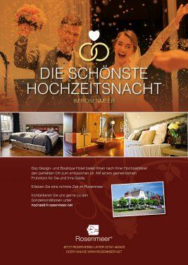 Rosenmeer Hochzeit-Anzeige A4 2020